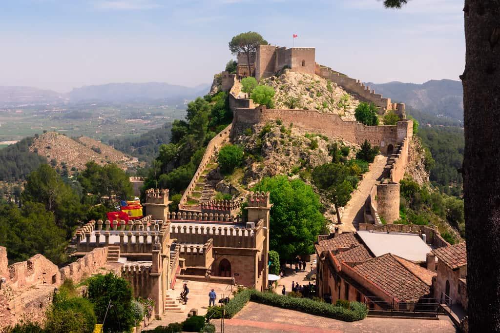 Castell Xativa, valencia